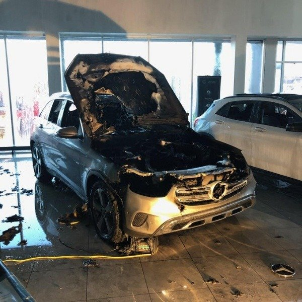 mercedes-GLC-bursts-into-flames-boston-dealership
