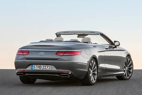 Mercedes-Benz S-Class Coupe And Convertible Dropped As From 2021