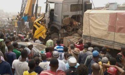 mob-sets-dangote-cement-trucks-ablaze-ogun