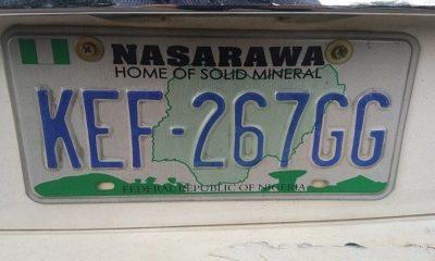 Nasarawa number plate codes