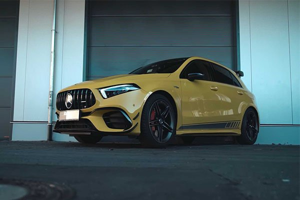 Mercedes-Benz A45S Modified To Get Almost 500hp