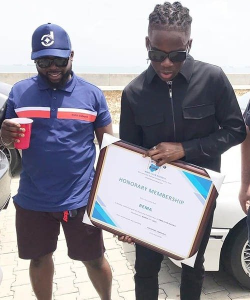 BMW Club Nigeria Honours Rema Of Mavin Records