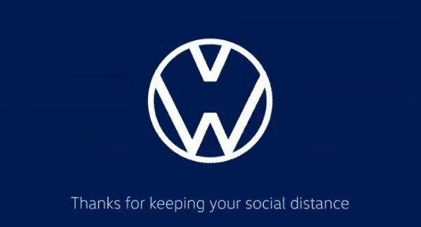 coronavirus-volkswagen-audi-promotes-social-distancing-logos