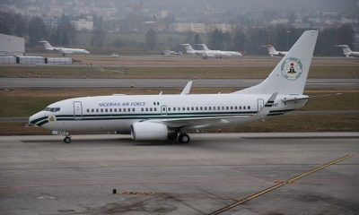 buhari presidential plane