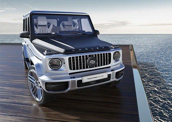 Carlex Design Fits Amazing Wood Interior To Mercedes-Benz G63