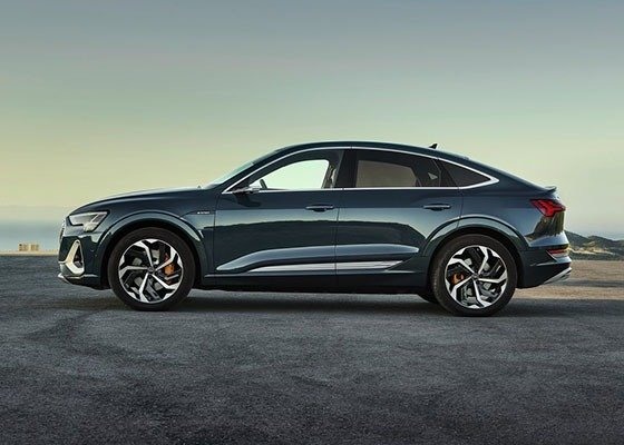 Audi Launches The E-Tron Sportback To Challenge Tesla's Model Y