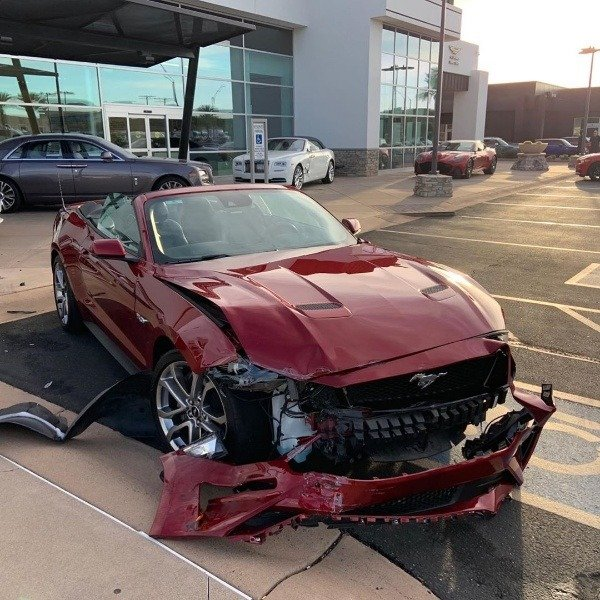 ford-mustang-smashed-brand-new-rolls-royce-dawn