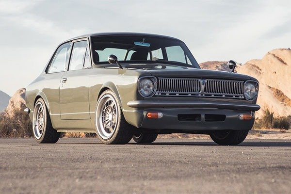 This 1969 Toyota Corolla Is Fitted With A Lexus V8 Engine