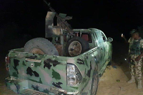 Gun-Trucks Captured From Boko Haram By The Nigerian Army autojosh