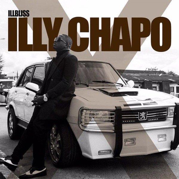 Modified Peugeot 504 On Rapper Ill-Bliss Album Cover autojosh