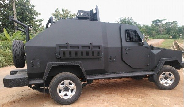 Fighting Vehicles Produced By Innoson For The Nigerian Army autojosh