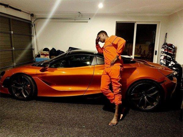 Israel Adesanya, And His 2019 McLaren 720s Spider autojosh