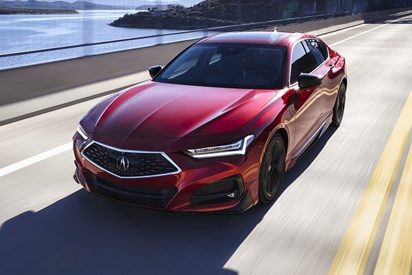 2021 Acura TLX Set To Fight Rivals From Germany