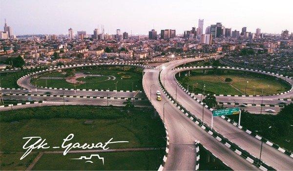 Beautiful Aerial Views Of Lagos Ring Road Flyover autojosh