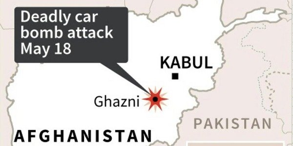 A car bomb targeted at killed at Afghan intelligence agency killed at least five people in Afghanistan. autojosh