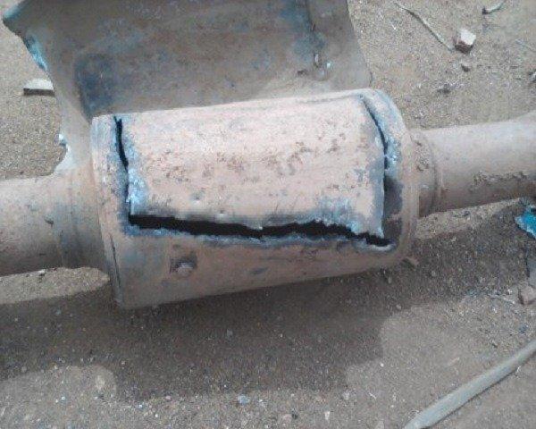 catalytic converters steal nigeria
