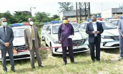 dangote police vehicles ogun