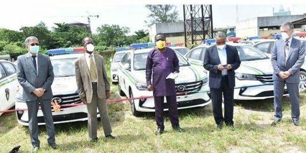dangote police vehicles ogun