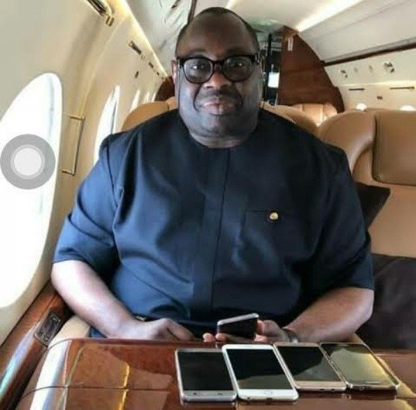 dele-momodu-is-60-today-take-a-look-at-a-rare-picture-of-him-posing-with-a-bentley-and-range-rover-cars