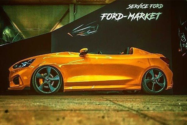Check Out This Topless And Roofless Ford Focus Speedster