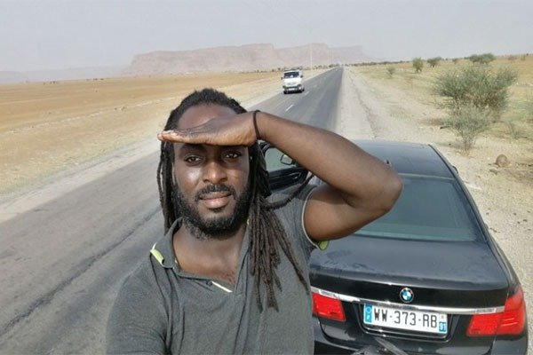 Meet The Ghanaian That Traveled From France To Ghana By Road