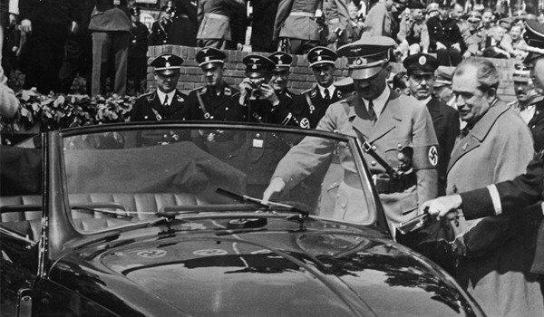 Hitler called in the Austrian automotive engineer Ferdinand Porsche.