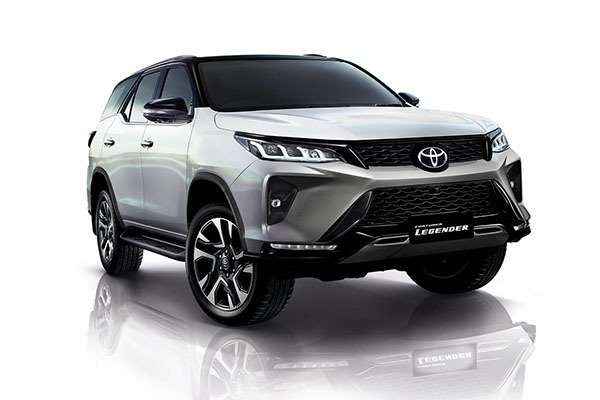 Check Out The 2021 Toyota Fortuner With A New Front Fascia