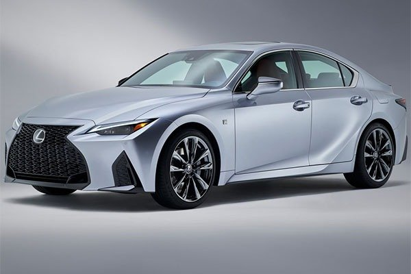 2021 Lexus IS Sedan Is A Facelift After all But It's Worth The Look