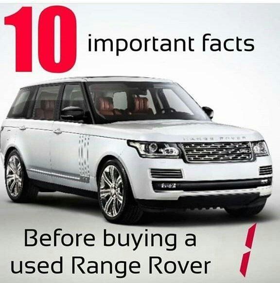 guide used range rover nigeria