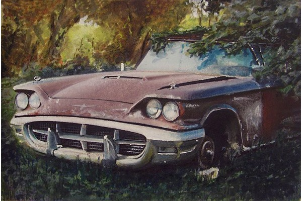 Abandoned Luxury cars autojosh