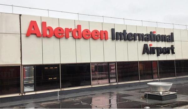 Airplanes Collide At Aberdeen International Airport autojosh