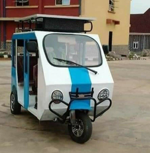 anthony-obinna-okafor-unveils-solar-electric-tricycle-that-goes-70km-on-full-charge