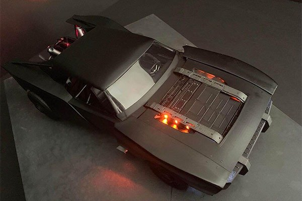 See The Latest Batmobile To Be Used In The Next Batman Film
