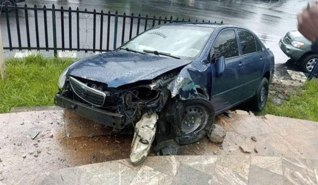 Family Survived A Car Accident In Calabar Without Injuries