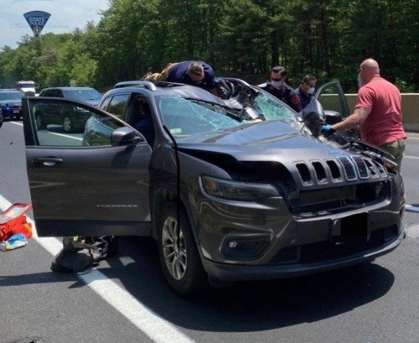 female-driver-killed-after-tyre-from-another-car-struck-the-windscreen-of-her-jeep-suv