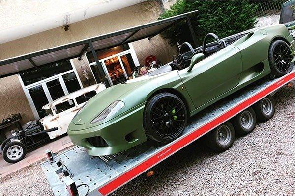 Ferrari 360 Spider Transformed Into A Roofless Speedster