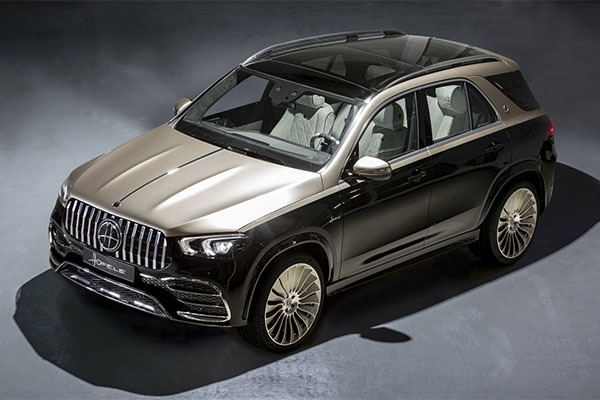 Hofele Turns A Mercedes-Benz GLE Into A Maybach Wannabee