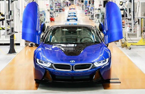 The Last BMW i8 Leaves The Factory As Production Ends