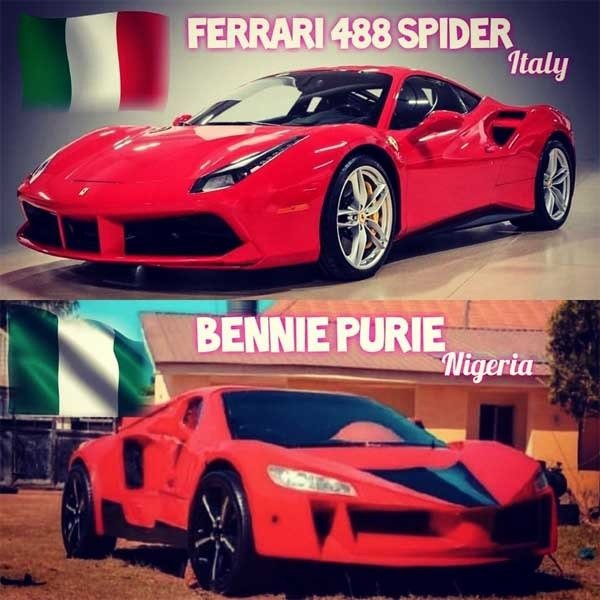 Jerry Mallo Nigeria's First Carbon Fiber Sports Car autojosh