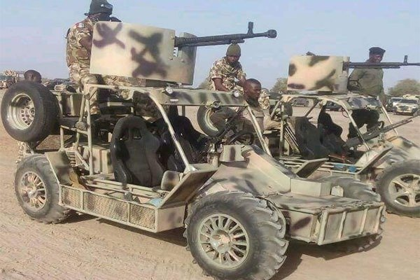 Made In Nigeria All Terrain Tactical Military Vehicle Spotted