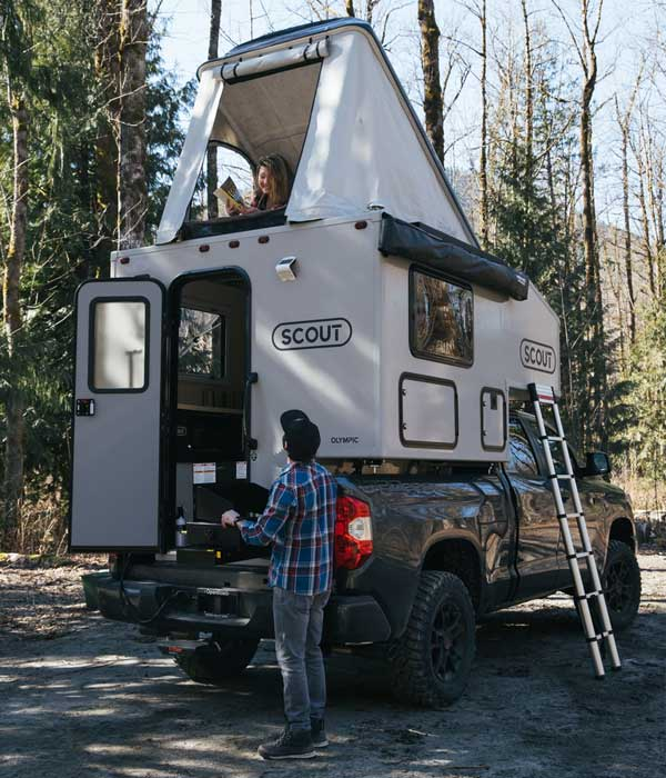 Truck Into a Camper With This Trailer Add-On