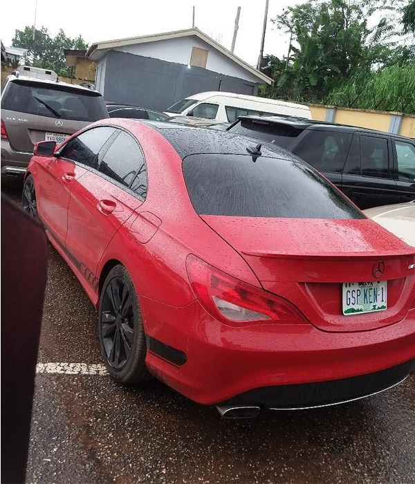 Mercedes-Benz Cars EFCC Recovered From An Alleged Yahoo Boy autojosh