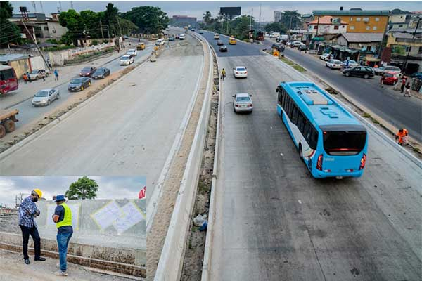 Babatunde Fashola Inspects Ongoing Federal Road Projects In Lagos