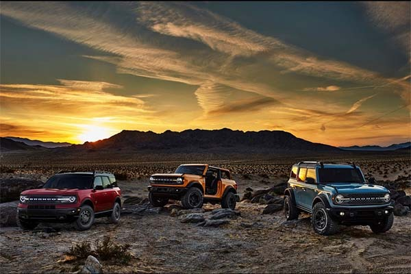 Ford Launches Most Anticipated Bronco And Bronco Sport SUV
