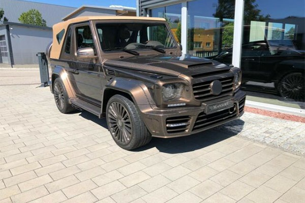 This 2012 Mansory Mercedes-Benz G500 Convertible Costs Almost ₦1b