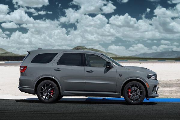 Latest 2021 Dodge Durango Hellcat Is The Fastest 7-Seater SUV