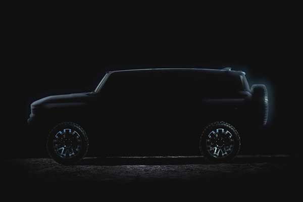 GMC Again Teases New Hummer EV Pickup Truck And SUV