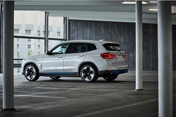 BMW Launches First Ever Electric SUV, The iX3 With A 285 Mile Range