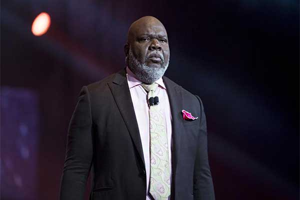Bishop T. D Jakes Poses With A Vintage Car As He Celebrates Birthday