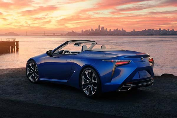 The Lexus LC 500 Convertible Is The Brand's Most Expensive Production Car